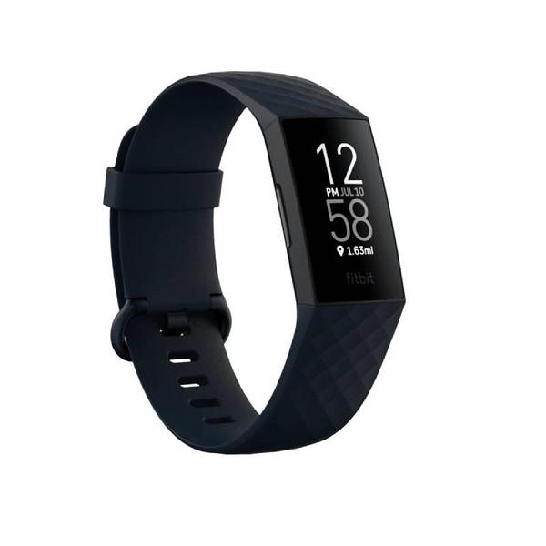 【南紡購物中心】Fitbit Charge 4 進階版的健康智慧手環《 風暴藍》