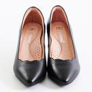 新品上市 GREEN PINE 羊皮跟鞋  -黑色