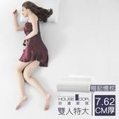 House Door 高密度防黴防蹣抗菌記憶床墊厚度3英寸-雙人特大