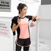 瑜伽服套裝 運動服套裝女夏薄款網紅休閒速干衣女跑步健身房女夏天 - 歐美韓熱銷