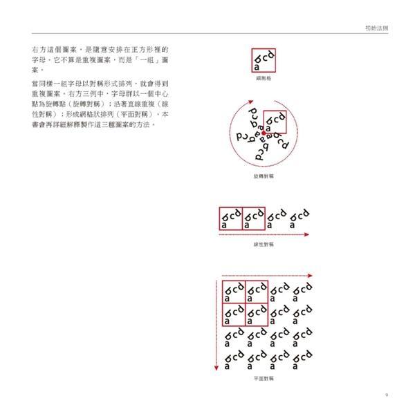 圖案設計學:從視覺表現解讀對稱法則,寫給設計師的系統化Repeat Pattern操作手..
