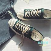 帆布鞋 夏季男士小白鞋港風ins學生韓版潮流休閒鞋子男板鞋 3色 35-44