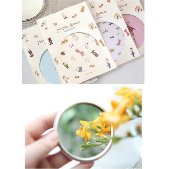 美容小鏡子 時尚 便攜 隨身 化妝鏡 可愛 塑料 小圓鏡 小禮品 禮物 贈品