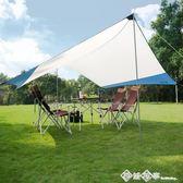 tawa帳篷天幕戶外超大多人涼棚防水篷 野營防風雨篷遮陽遮車棚igo    西城故事