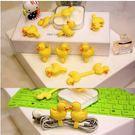 【想購了超級小物】超夯~黃色小鴨~2入釘扣式繞線器 / 手機週邊配件 /  熱銷創意小物