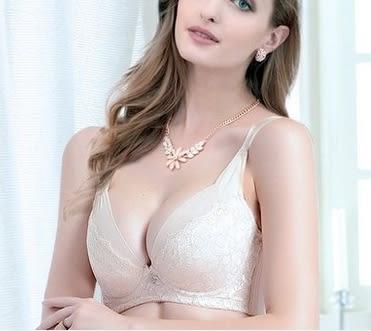 蕾絲性感聚攏胸罩-ting004