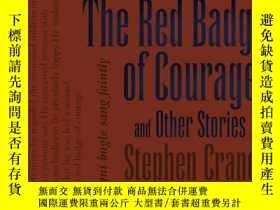 二手書博民逛書店The罕見Red Badge of Courage and Other Stories紅色英勇勛章,美國作家斯蒂芬