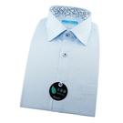 【南紡購物中心】【襯衫工房】長袖襯衫-淺藍色素面