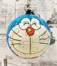 【震撼精品百貨】Doraemon_哆啦A夢~Doraemon 小叮噹拼圖鑰匙圈/吊飾-藍#01674