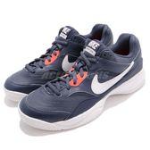 Nike 網球鞋 Court Lite 藍 白 低筒 運動鞋 基本款 男鞋 爸爸鞋 Dad Shoes 【PUMP306】 845021-403