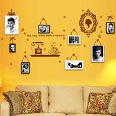 鏡中花 創意可重覆貼壁貼 牆貼 背景貼 時尚組合壁貼《Life Beauty》