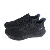 adidas EQ21 RUN 運動鞋 慢跑鞋 黑色 男鞋 H00521 no945