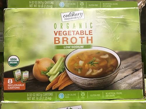 ORGANIC VEGETABLES BROTH有機低鈉蔬菜高湯946mi*8PK(可素食)
