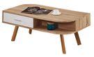 【南洋風休閒傢俱】茶几系列-奧利佛3.6 尺梧桐二抽大茶几 邊桌 角桌 沙發桌 咖啡桌 (JF266-1)