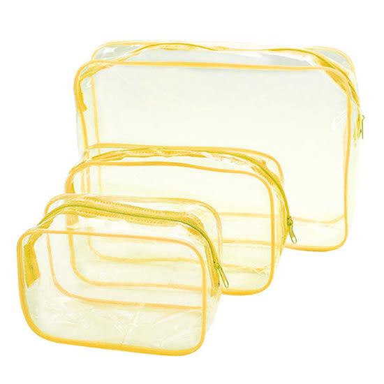 手拿包 洗漱包 防塵包 防塵袋 分類 文具 旅行 化妝品 數據線 加厚 PVC透明化妝包(中) MY COLOR【G046】