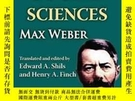 二手書博民逛書店Methodology罕見Of Social SciencesY256260 Max Weber Transa