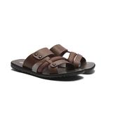 WALTZ-簡約織帶設計男拖鞋632061-23咖