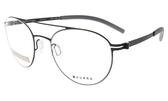 【台南 時代眼鏡 VYCOZ】韓流時尚 無螺絲鉸鏈輕量薄鋼 光學眼鏡鏡框 DR7005 BLK