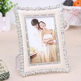 相框 復古經典歐式婚紗影樓小玫瑰花擺台相框創意結婚禮物6/7/8/10寸RM