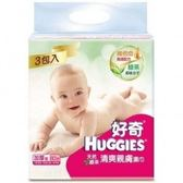 好奇 厚型柔潤嬰兒濕巾 綠茶80抽(3包x6組/箱)