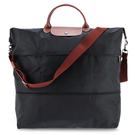LONGCHAMP摺疊兩用旅行袋(黑色)...