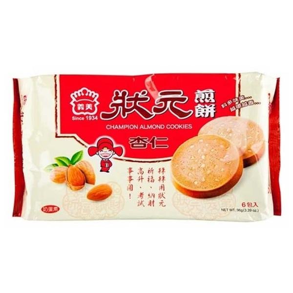 義美狀元煎餅-杏仁96g*1包 (2020新版) 【合迷雅好物超級商城】 -02