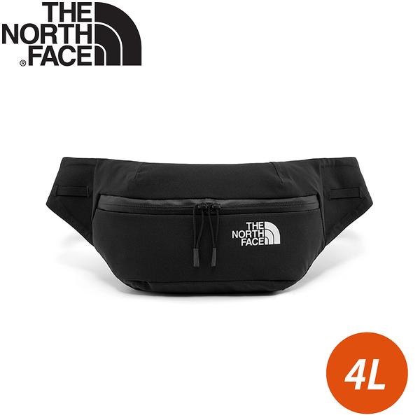 【The North Face 4L 簡約休閒戶外腰包《黑》】52CS/小包/側背包/休閒腰包/多功能腰包