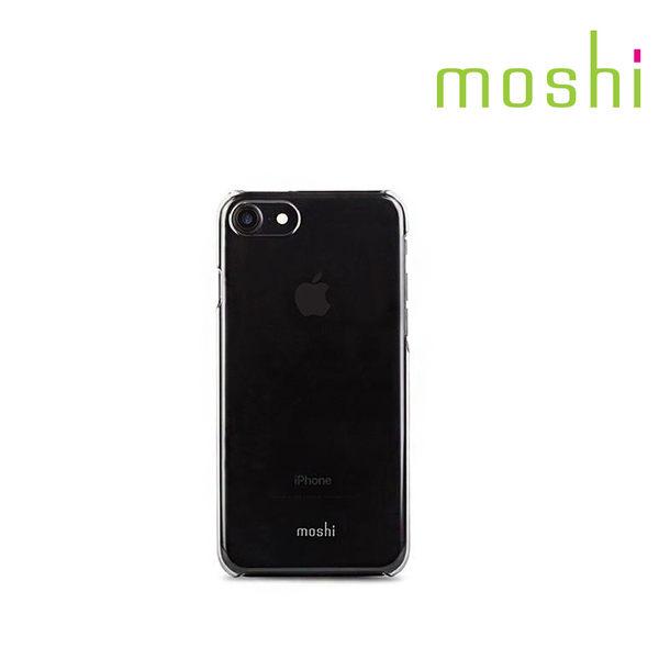 {原廠公司貨}Moshi iPhone 8/7 XT 透明超薄保護外殼(隱魅黑)