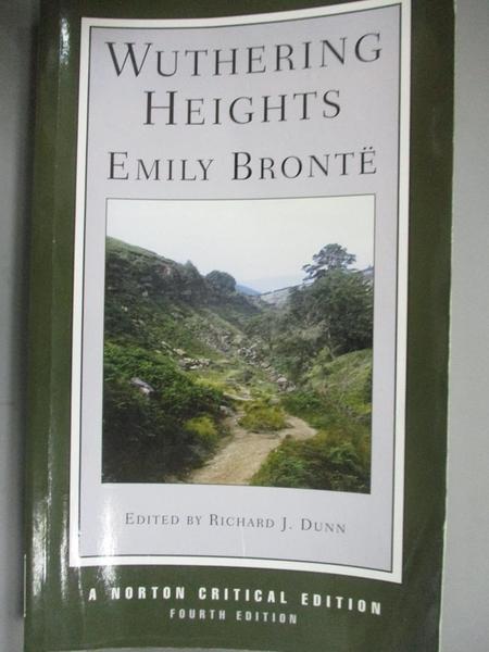 【書寶二手書T1/原文小說_HHF】Wuthering Heights_Bronte, Emily