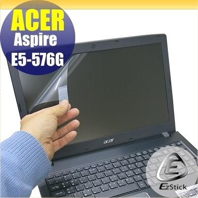 【Ezstick】ACER E5-576 E5-576G 靜電式筆電LCD液晶螢幕貼 (可選鏡面或霧面)