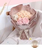 母親節禮物女朋友玫瑰花禮盒香皂花束閨蜜生日禮物女肥皂花送媽媽 向日葵