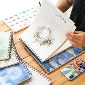美術空白素描本速寫本手繪專用畫紙兒童圖畫本a4紙成人畫畫彩鉛本子學生用簡