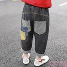 小童裝男童夏裝2020新款九分褲兒童夏款帥寶寶洋氣韓版牛仔褲子潮