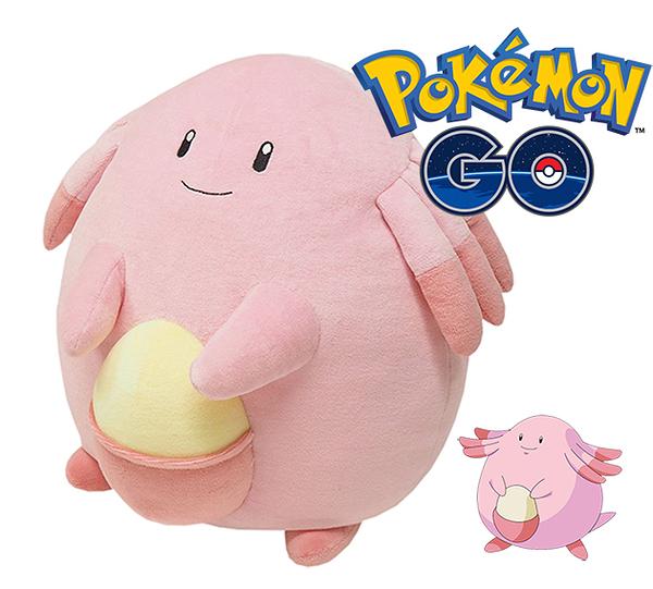 吉利蛋 絨毛玩偶 Pokemon 寶可夢 神奇寶貝 M號娃娃 日本正品 該該貝比日本精品 ☆