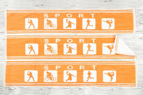 純棉運動毛巾 粉紅 / 多條優惠 花色皆可混搭 / 台灣專業製造 【快樂主婦】