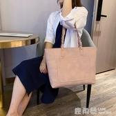 托特包 北包包春夏新款韓版潮女包單肩包休閒手提包托特包簡約大包女『快速出貨』