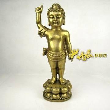銅器太子佛
