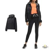 Puma 女款 黑色 外套 防風外套 連帽外套 運動 休閒 風衣外套 52017601