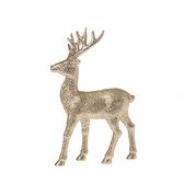 金色鹿擺飾22cm