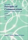 二手書博民逛書店《Principles of Communication: Sy