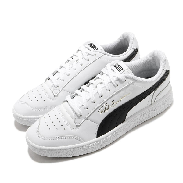 Puma 休閒鞋 Ralph Sampson Lo 白 黑 復古 男鞋 女鞋 E.SO 瘦子【ACS】 37084611