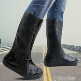 防雨鞋套男女鞋套防水雨天加厚防滑耐磨底成人兒童雨鞋套防雪鞋套 color shop