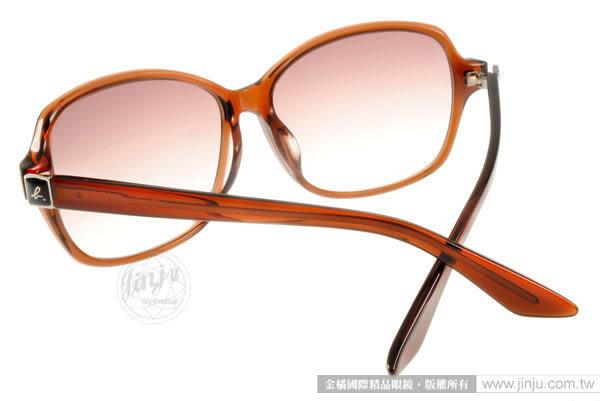 agnes b.太陽眼鏡 AB2807 DB (透棕) 經典設計款 墨鏡 # 金橘眼鏡