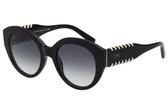 TOD'S 廣告款 復古造型 編織 太陽眼鏡-黑色