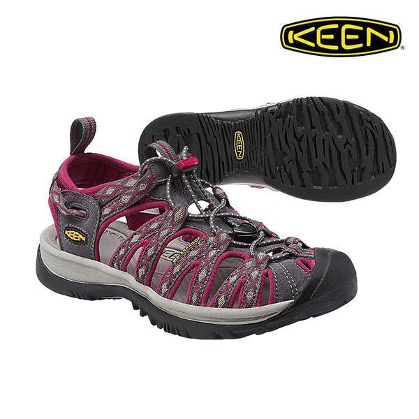 KEEN 織帶涼鞋Whisper 1014204《女款》/ 城市綠洲 (水陸兩用.輕量.戶外休閒鞋.運動涼鞋)