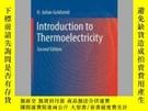 二手書博民逛書店Introduction罕見to ThermoelectricityY405706 H. Julian Gol