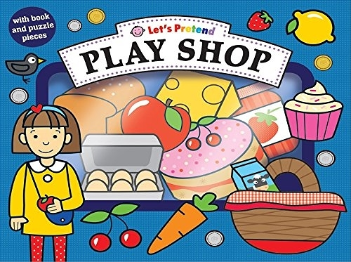 Let's Pretend:Play Shop 去逛街 硬頁掀翻操作書(英國版)
