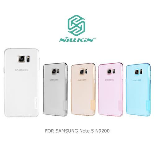 摩比小兔~ NILLKIN Samsung Note 5 N9200/N9208 本色系列TPU軟套 軟殼 果凍套 透色套