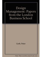 二手書博民逛書店《Design management : papers from