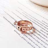 個性戒指裝飾戒指女食指時尚個性潮飾品指環免運直出 交換禮物